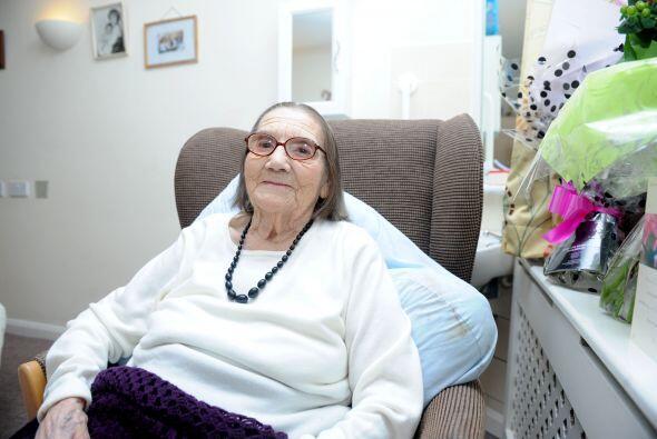 Freda Taylor es de Coventry, Inglaterra y es una mujer orgullosa de su e...
