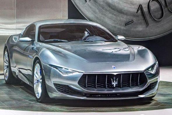 Maserati Alfieri Concept: Este deportivo presenta una configuración 2+2...