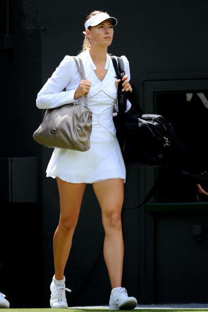 Como es costumbre, la rusa MAria Sharapova deleitó a más de uno desde qu...