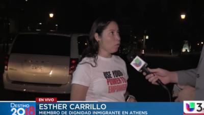 Votantes hispanos cumplieron su deber en Athens con ayuda de voluntarios
