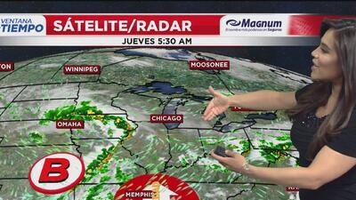 Ventana al Tiempo: Probabilidad de fuertes lluvias este jueves en Chicago
