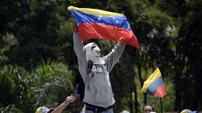 Militarizan zona cero de protestas en Venezuela