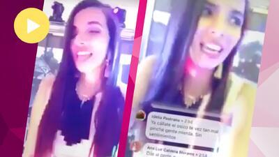 (Video) Conductora de televisión atropella a un animalito y muestra que le vale gorro