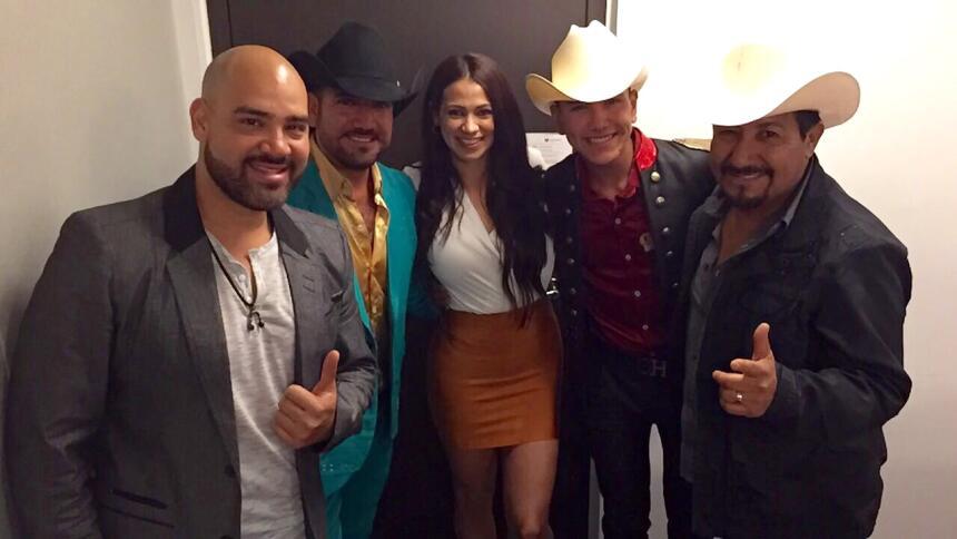 El Bueno, La Mala y El Feo al lado de Geru Garcia y su Legion 7.
