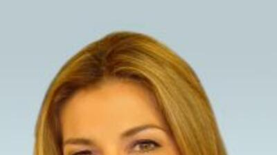 La meteoróloga Paola Elorza.