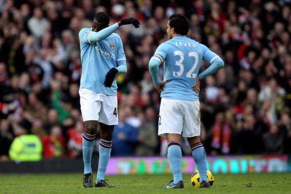 Los jugadores del Manchester City quedaron sin palabras luego del gol de...