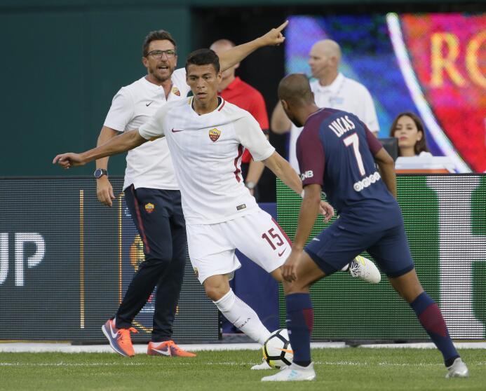 : la Roma (Héctor Moreno) comenzará la Serie A 17/18 en casa del Atalanta.