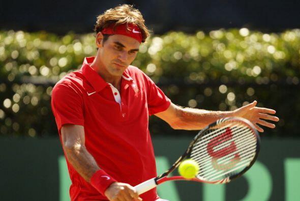 En el Masters de Monte Carlo, Roger Federer perdió ane el noveno sembrad...
