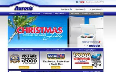 1. AARON'S   Sector de la industria: Mueblería.  Ejemplos de pues...