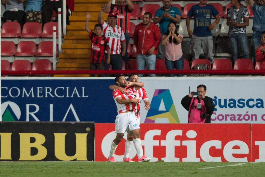Los Rayos logran la victoria en el último minuto Nicolas Maturana Necaxa...