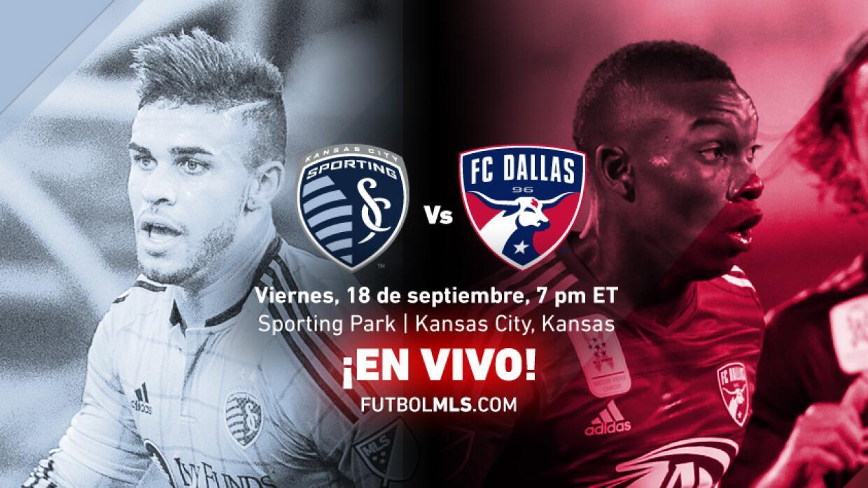 Sporting Kansas City vs FC Dallas EN VIVO