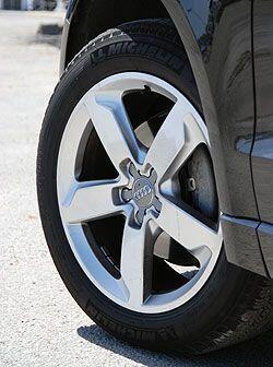 Los aros tienen un diseño deportivo que lucen bien en la Q5.