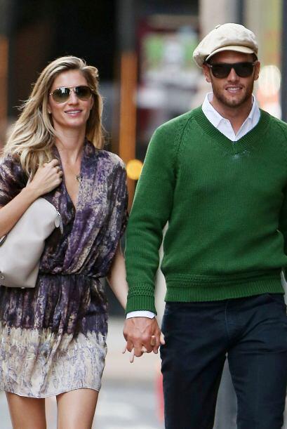 Gisele Bundchen y Tom Brady celebraron su aniversario de bodas  de una m...