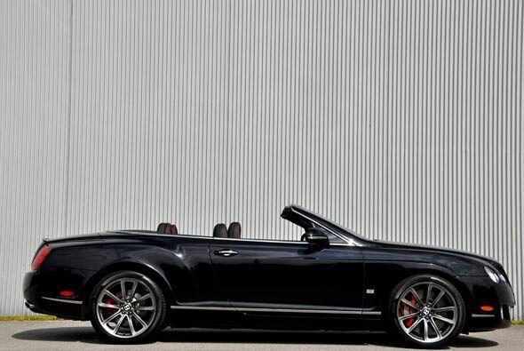 Bentley es conocido por sus autos de lujo y de vez en cuando deja boquia...