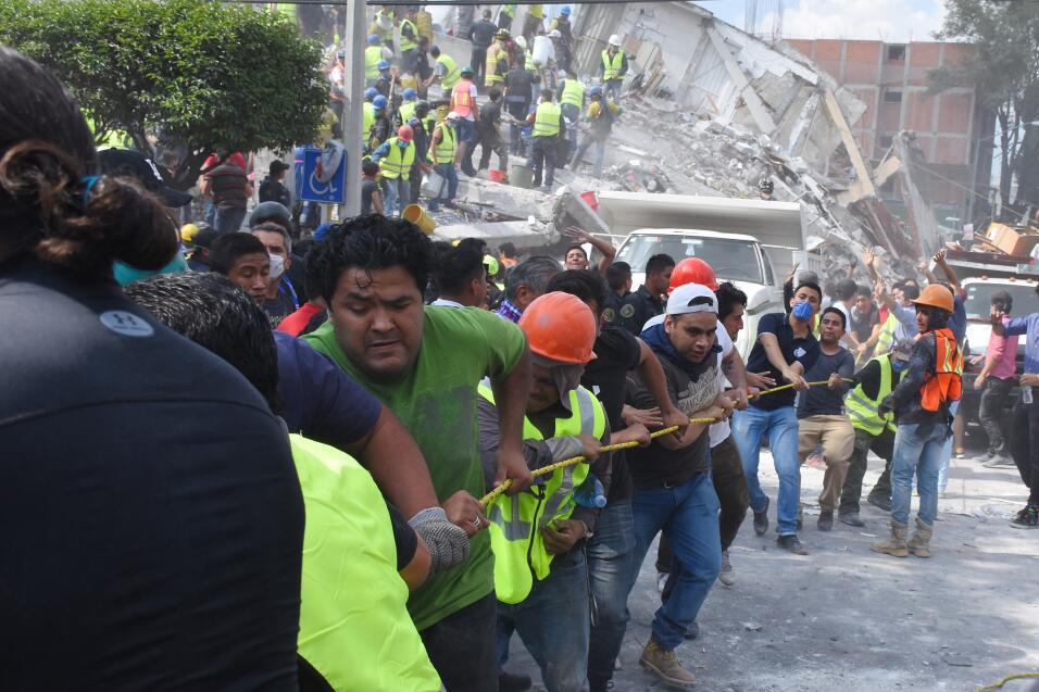 Terremoto México Civiles