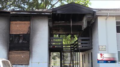 Incendio accidental en un complejo de apartamentos deja varias familias desplazadas