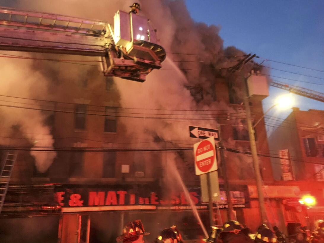 incendio en el Bronx 2 de enero de 2018