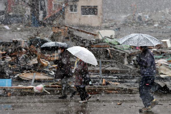 Los sobrevivientes del terremoto y posterior tsunami ahora padecen la es...