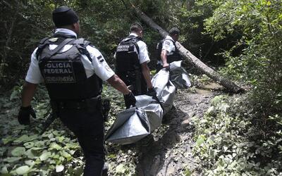 Hallan una fosa clandestina con seis cadáveres en Acapulco