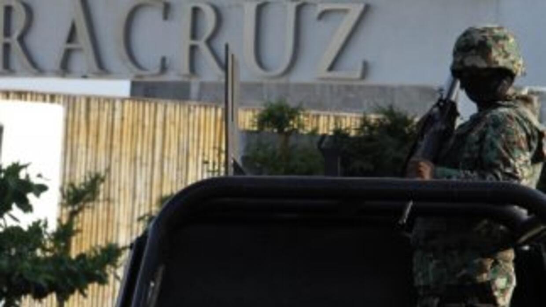 La detención de los cinco jóvenes se dio en Veracruz, México.