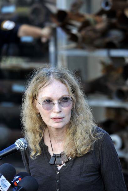 """Mia Farrow: """"Este debe ser un momento de alegría- optimismo- después de..."""