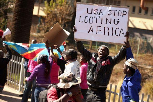 Su agenda continuará el domingo en Ciudad del Cabo -suroeste de S...
