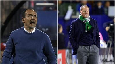 FC Dallas vs. Portland Timbers; Óscar Pareja vs. Giovanni Savarese.