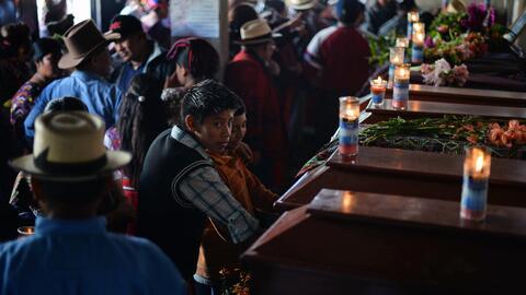 Inmigrantes que no hablan ni español ni inglés, solo maya centroamerica5...