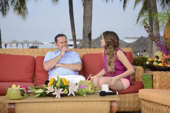 Alan Tacher y Sofía Castro se pusieron al día en uno de los cortes comer...