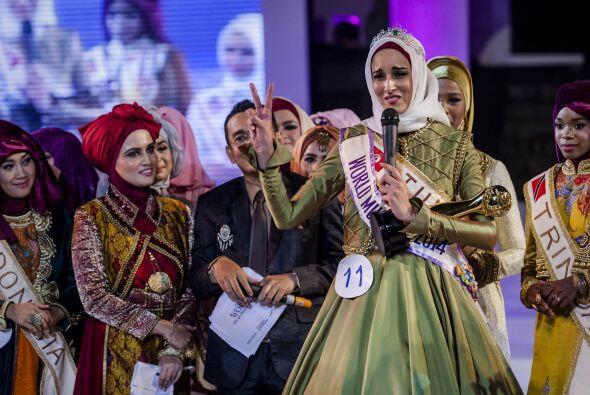 En este concurso no sólo se corona a la belleza femenina.