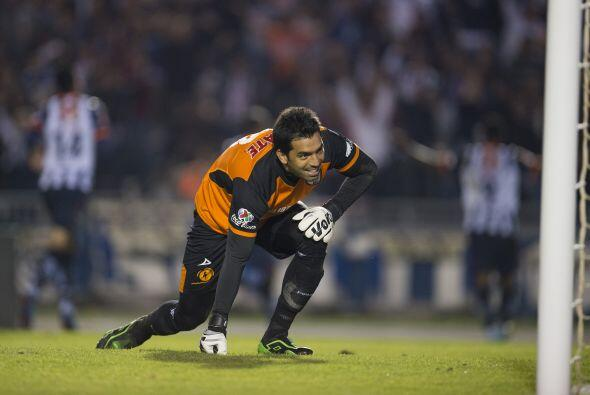 Seis atajadas fueron las que realizó Edgar Hernández para evitar goles d...
