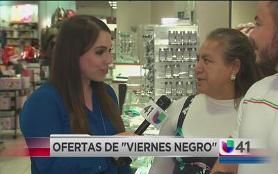 Familias hispanas listas para las compras del Black Friday