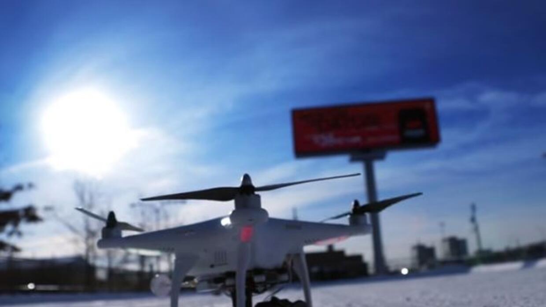 Espectacular video capta a nuestra ciudad durante los días más fríos del...
