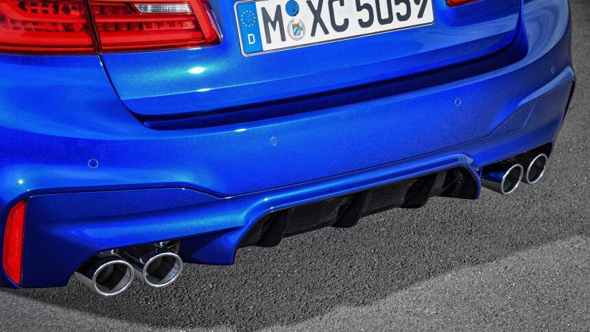 Fotos del BMW M5 2018
