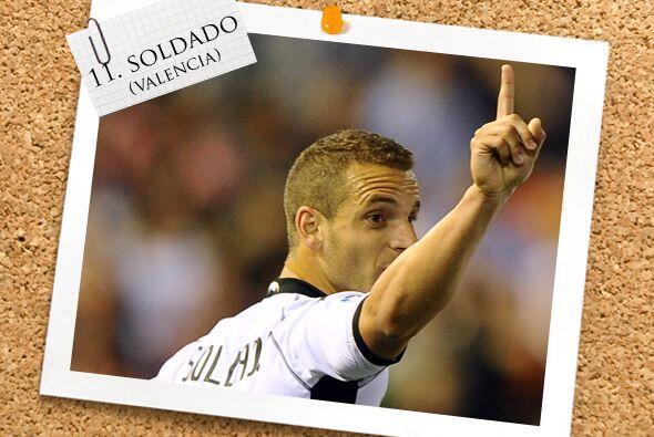 Y el último hombre en el ataque viene de la Liga española, el goleador R...