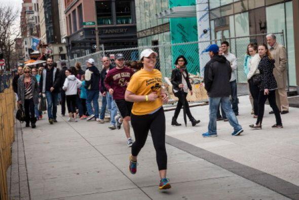 """""""Correremos de nuevo"""" es el lema que la ciudad ha adoptado a 12 meses de..."""
