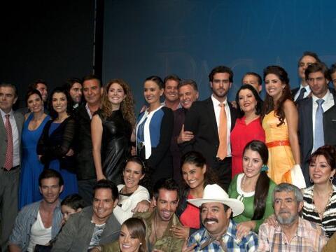La productora Mapat presentó al elenco de su nueva producci&oacut...
