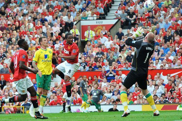 La apertura del marcador llegó por medio del brasileño Anderson. Fue una...