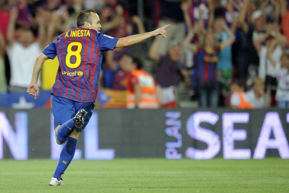 'Don Andrés' fue habilitado magistralmente por Messi y en el mano...