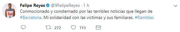El mundo del deporte se solidariza con las víctimas de Barcelona BCN31.JPG