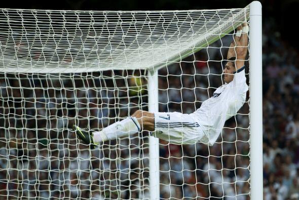 Cristiano se quedó con las ganas de marcar otro tanto.