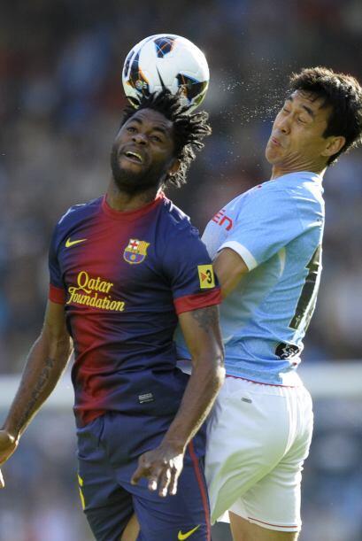 El Celta no se dejó impresionar y el Barcelona se relajó