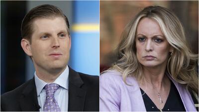 Investigación sugiere que Eric Trump estuvo involucrado en los esfuerzos por silenciar a Stormy Daniels