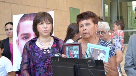 La familia de José Antonio Elena Rodríguez, un joven de 16 años, quien m...