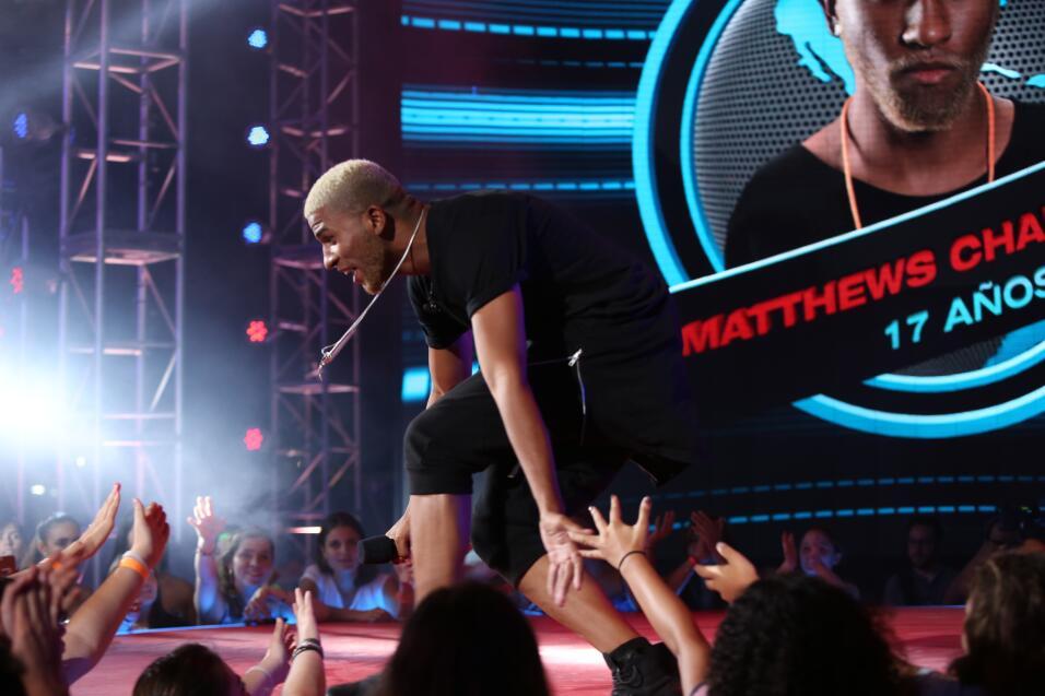 Matthews dejó a los jueces boquiabiertos con su interpretación de 'Take...