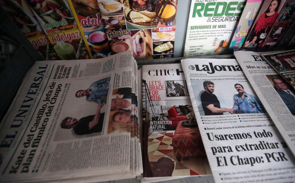 Las portadas de los periódicos mexicanos tras la divulgaci&oacute...
