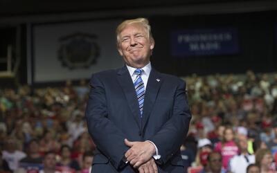 Desde que llegó a la Casa Blanca Trump no ha abandonado la ret&oa...
