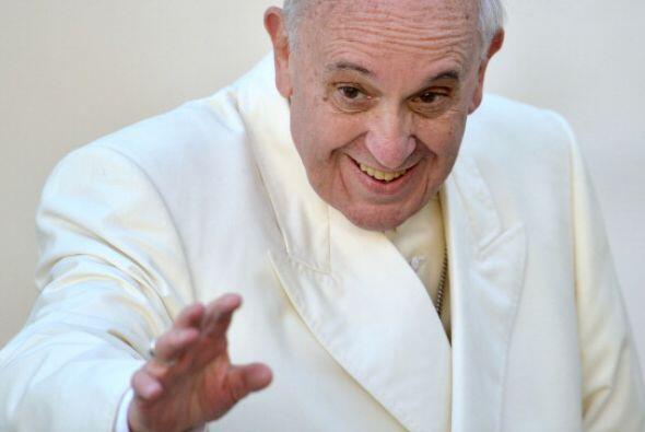 En cuarto lugar figura el Papa Francisco.