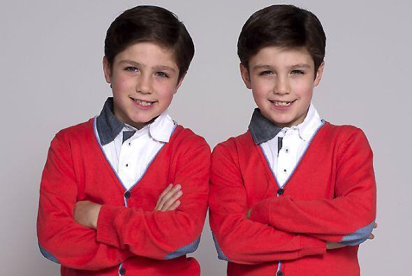Y si de traviesos hablamos, los gemelos Guille y Alex pondrán de...