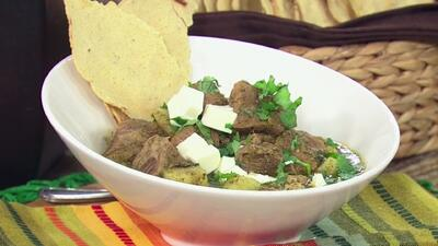 Receta de Carne de Puerco en Salsa Verde en La Cocina de Karla